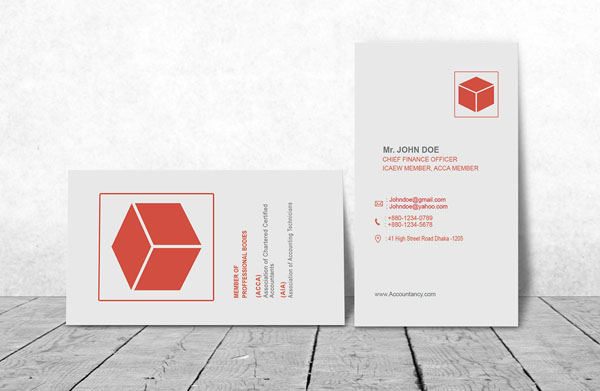 Accountant Business Card 12