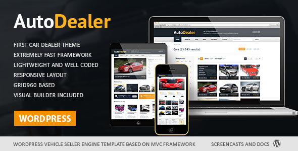 Car Dealer WordPress Theme 01
