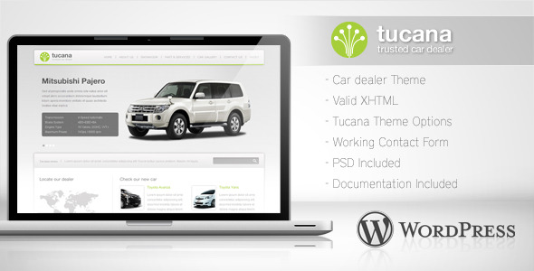 Car Dealer WordPress Theme 03