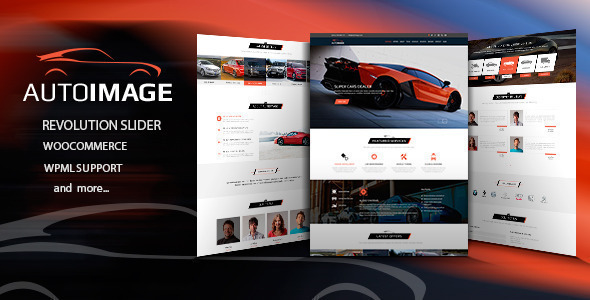 Car Dealer WordPress Theme 08