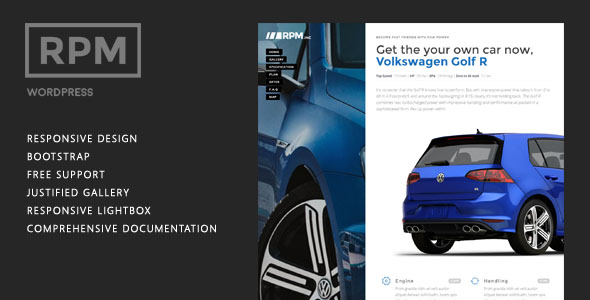 Car Dealer WordPress Theme 16
