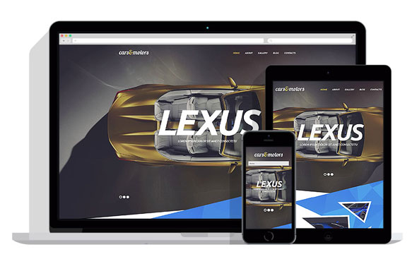 Car Dealer WordPress Theme 18