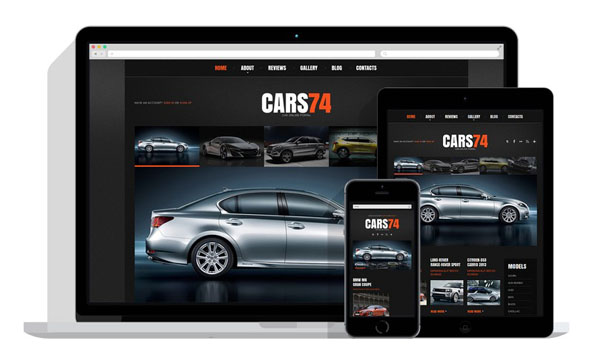 Car Dealer WordPress Theme 19