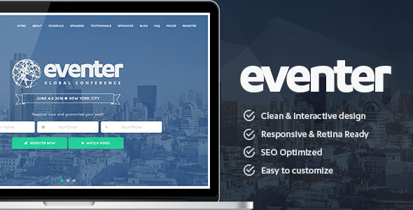 Conference Website Template 03