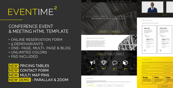 Conference Website Template 17