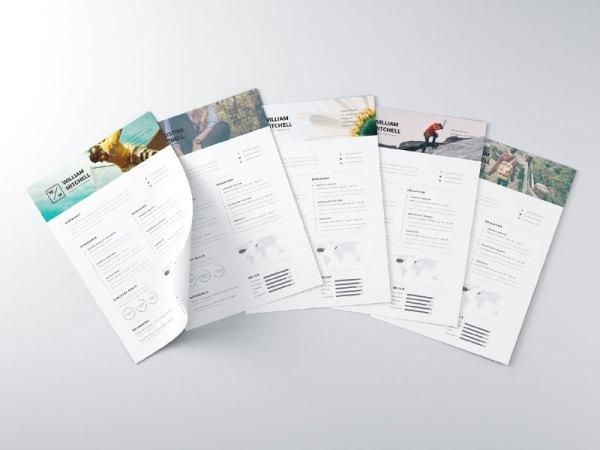 Free Minimal Resume Template 10