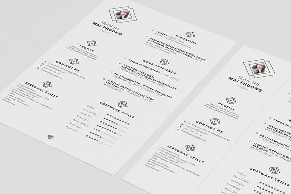 Free Simple CV Template 02