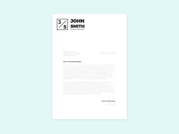 Free Simple Resume Template 03