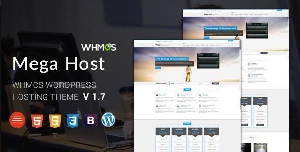 Hosting WordPress Theme WHMCS 14