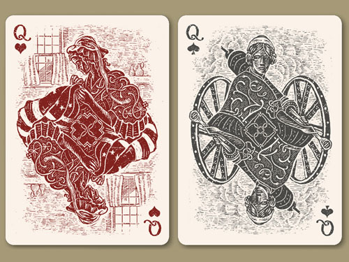 Playing Card Design 28
