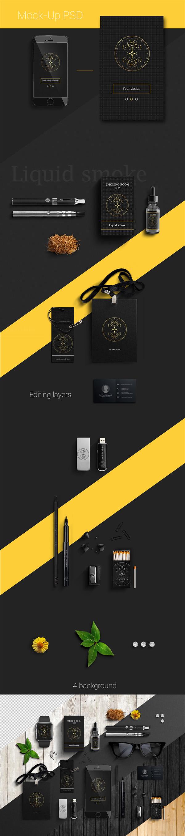 Free Office Branding Mockup