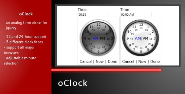 jQuery Time Picker Plugins 10