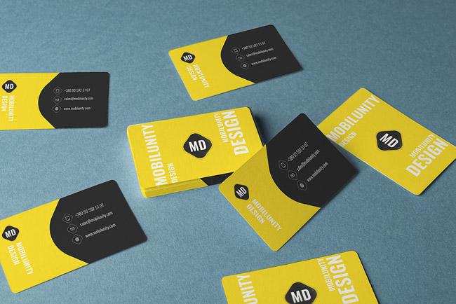 Free Business Cards Mockups 05