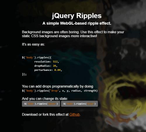 Ripple Effect jQuery Plugins