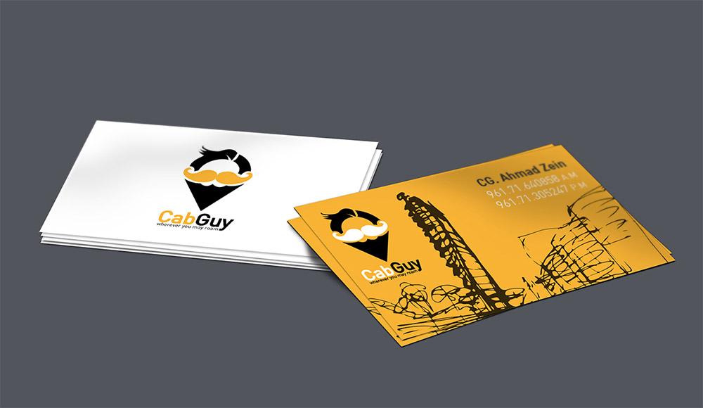 23 Creative Taxi Business Card Design -