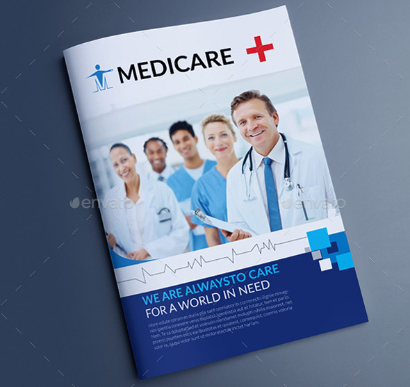 30 medical brochure template in different file format