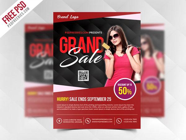 10 Free Black Friday Flyer Templates for Designer – Sale Flyer Templates