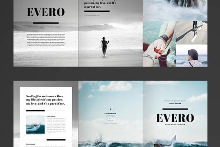 10 Free InDesign Brochure Templates for Any Purpose   Smashfreakz Trifold Brochure  Free TriFold InDesign brochure Template