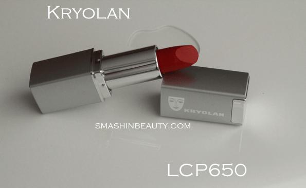 Kryolan LCP650 review swatches red lipstick savrseni crveni ruz za usne