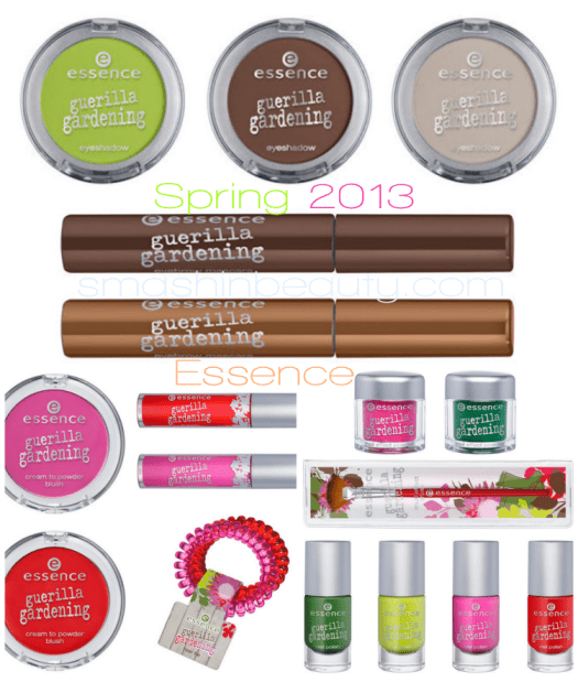 Essence Guerilla Gardening Makeup Collection Spring 2013 May Smashinbeauty