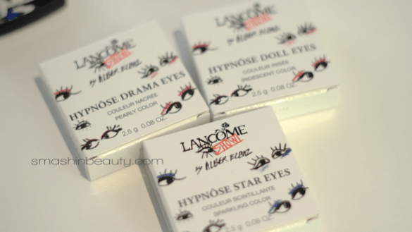 Lancome Hypnose Drama Eyes Star Eyes Doll Eyes Mono Eye Shadow Summer 2013 Alber Elbaz Collection