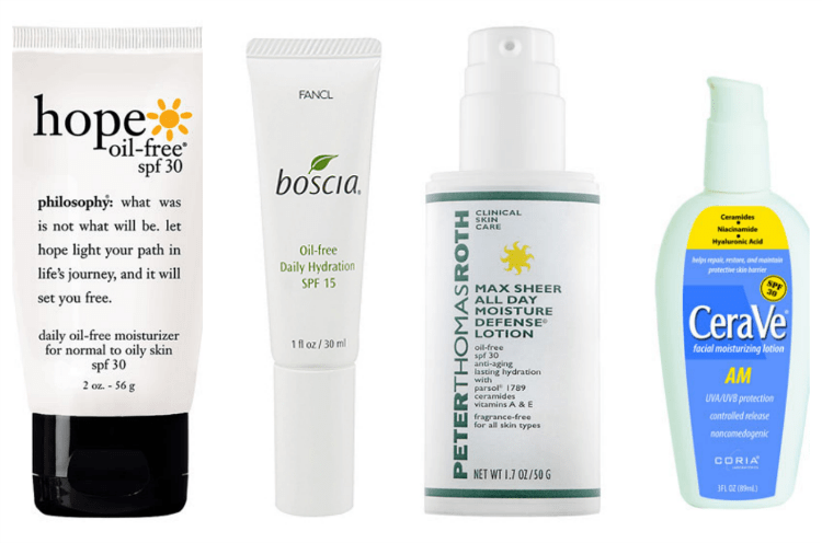 Top Moisturisers with SPF summer 2013 2014