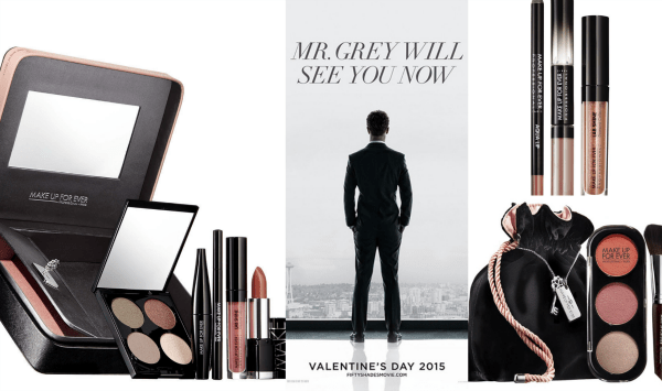 Fifty Shades of Grey Makeup Collection 2014