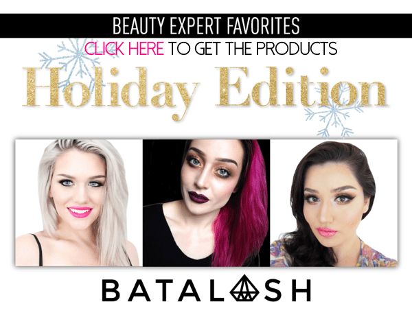Sigma Beauty Batalash Holiday Favorites Picks Collection Set 2014