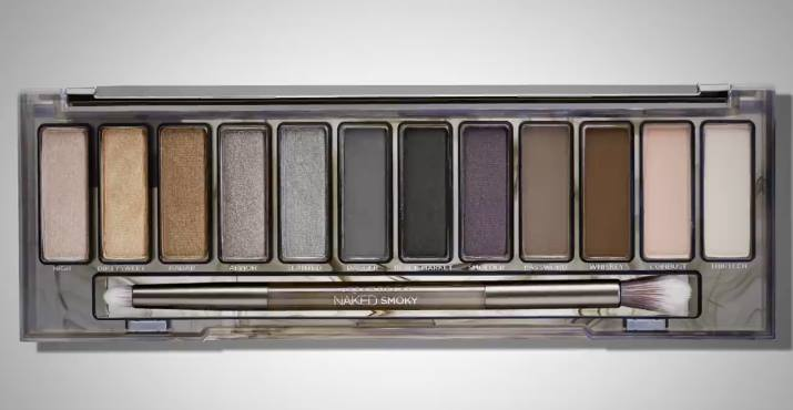 Urban Decay Naked Smoky Palette Swatches Review