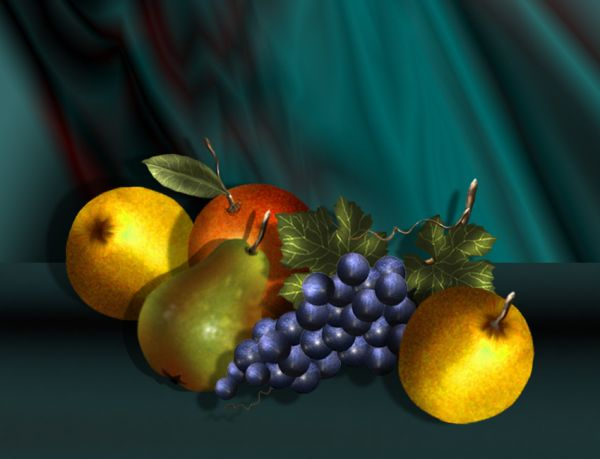 Realistic Fruit 35 Fresh and Useful Photoshop Tutorials