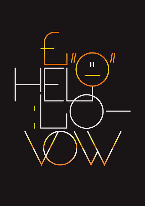 Vow Typeface l Fantastic Examples of Typography