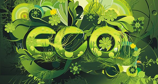 eco environment l Fantastic Examples of Typography