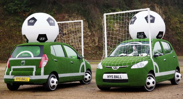 Hyundai i10 Football Cars 0 Hilarious FIFA World Cup Advertising  2010