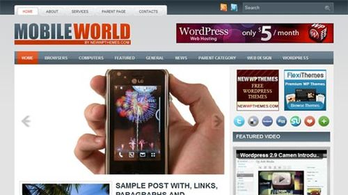 wordpress template 15 Top 20 Most Useful WordPress 3.0 Ready Themes
