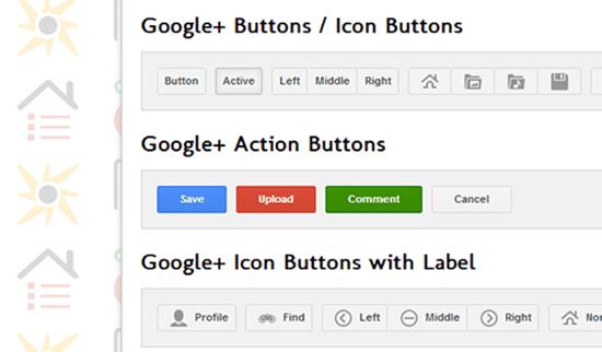 Google+ UI Buttons