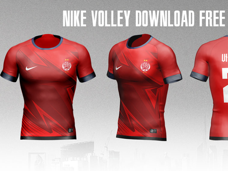 Download Nike Football Jersey Mockup - Free Download