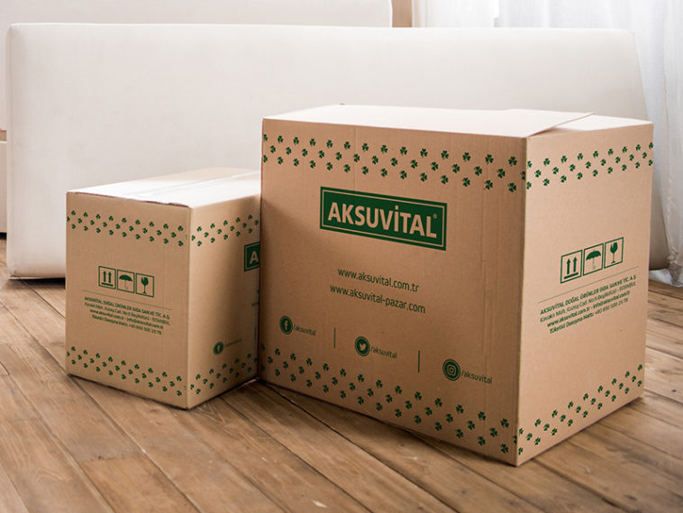 Download Realistic Packaging Box Mockup - Free Download