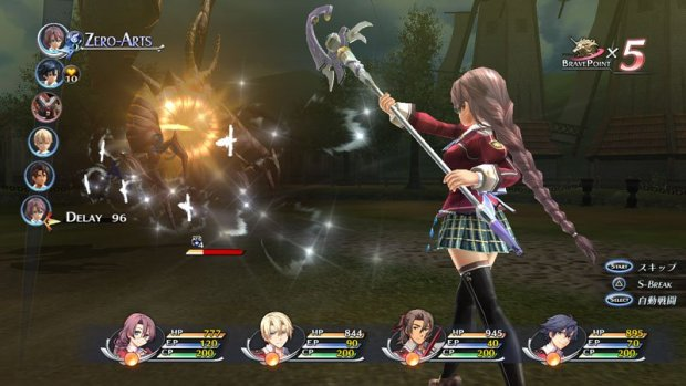 Most of the action in the Trails of Cold Steel comes from orienting yourself with the game's battle system.