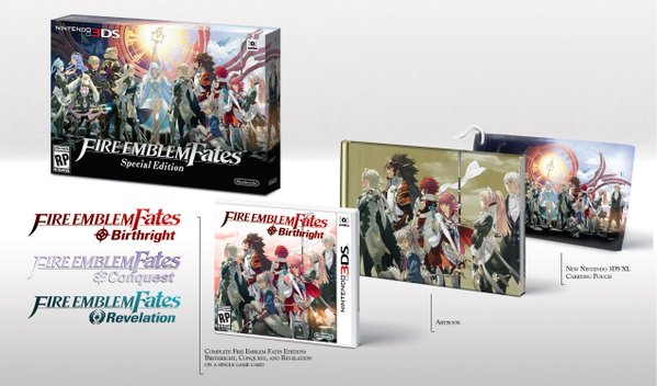 Fire Emblem Fates has two sides to the story, separated in two games. If you must have it all, you can.
