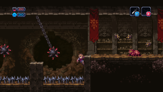 Chasm's levels and procedurally generated, so careful play is ideal.