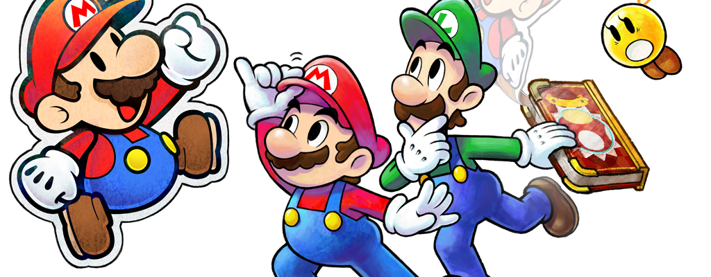 Mario Luigi Paper Jam Review Smashpad