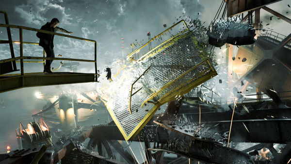 Awesome wreckage scenes such as these could've really set up some awesome platforming and puzzle-solving sequences. Unfortunately, they were all dull and seemed uninspired.