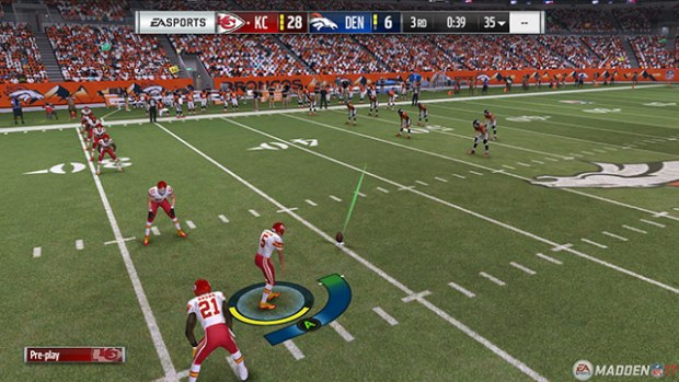 "Madden goes back to the 3-click system, but you still can't perform ""surprise"" onside kicks."