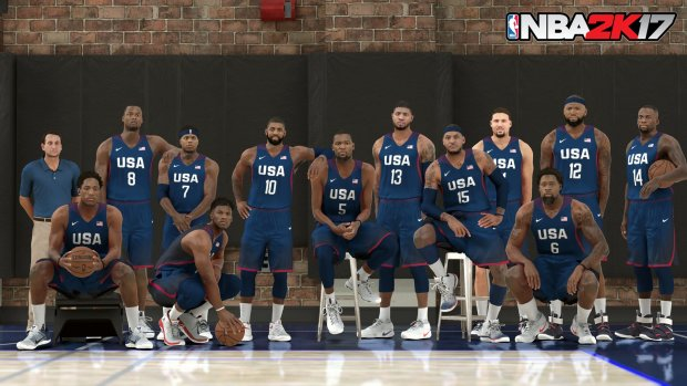 Oh yeah, it's an olympic year. Here's Team USA. Team Australia is also available to use.