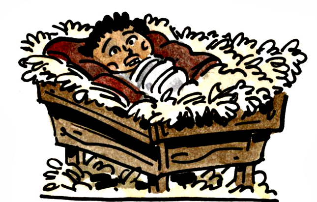 Chris Schweizer's Paper Nativity Informational Notes: Part 6