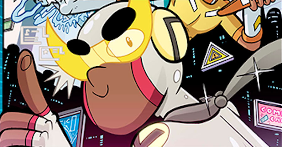 Jarrett Williams gets hyped with 'Hyper Force Neo'