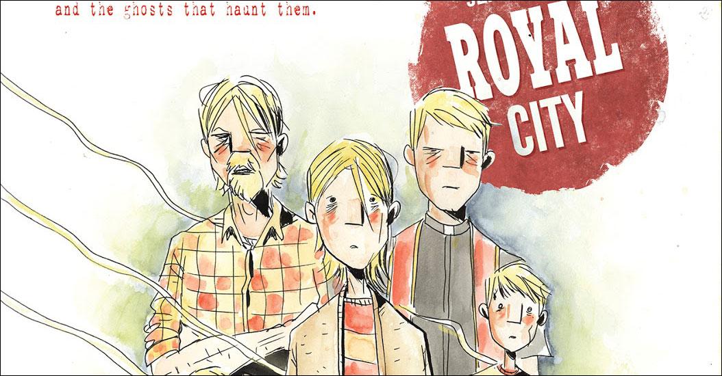 Image to publish Jeff Lemire's 'Royal City'
