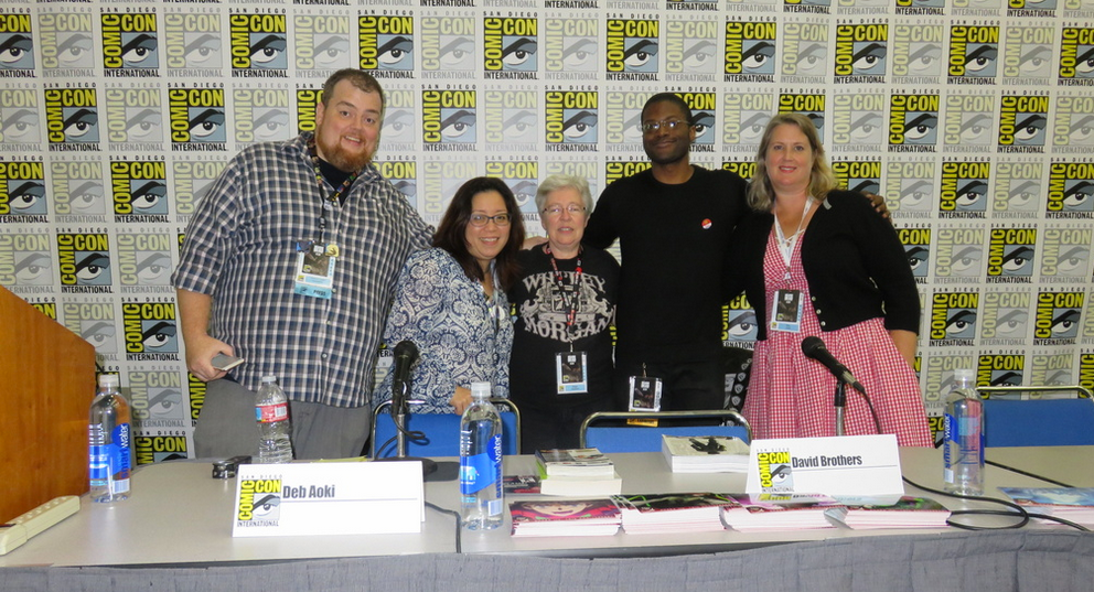 Hear more than 20 comics-related panels from SDCC