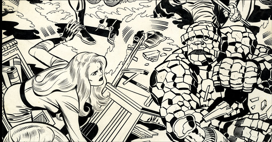 IDW celebrates Jack Kirby's 100th birthday next year with 'Fantastic Four Artist's Edition'