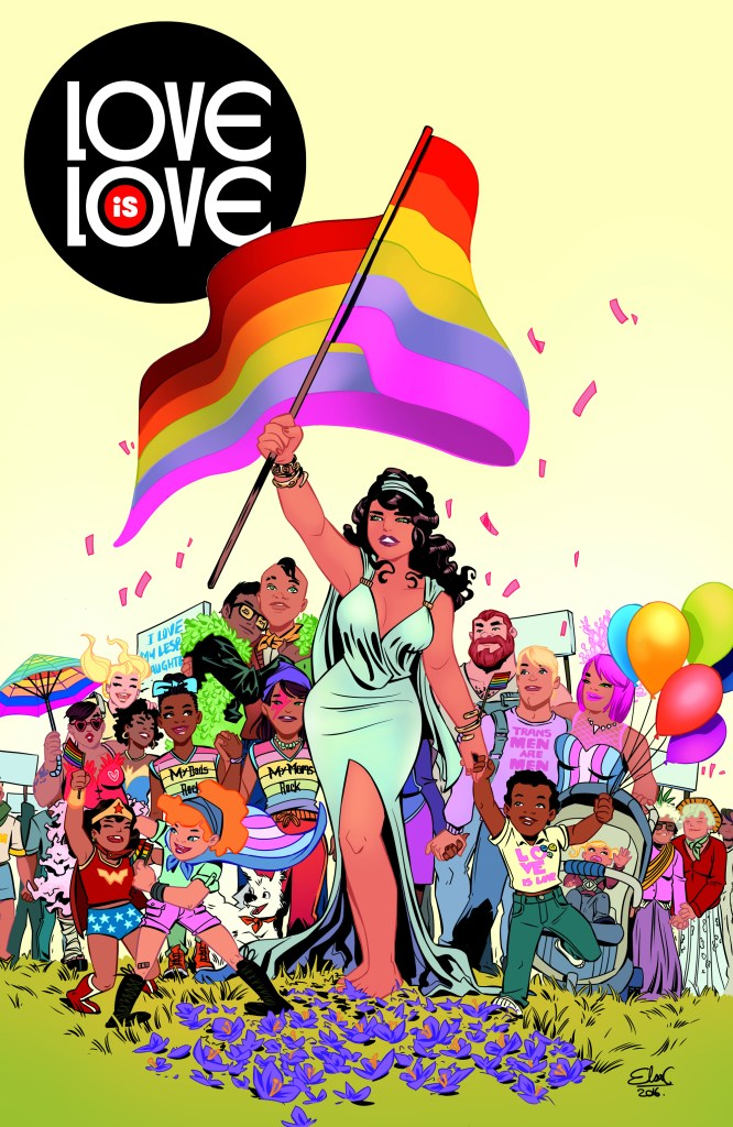 Love is Love cover by Elsa Charretier